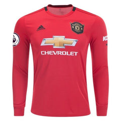 Manchester United 19/20 Home LS Jersey Personalized Jersey TNT Soccer Shop S Premier League No