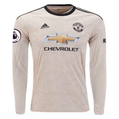 Manchester United 19/20 Away LS Jersey Personalized Jersey TNT Soccer Shop S Premier League No