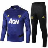 Manchester United 19/20 Blue Tactical Training Top Tracksuit TNT Soccer Shop