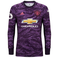 Manchester United 19/20 Goalkeeper LS Jersey Personalized Long Sleeve Jersey TNT Soccer Shop S Premier League No