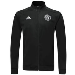 Manchester United 19/20 Black Icon Jacket Jacket TNT Soccer Shop S No