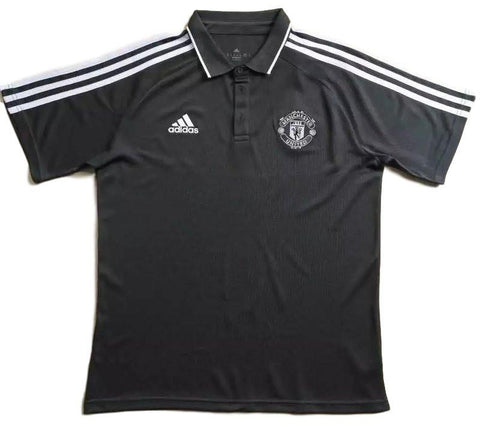 Man. United 2017 Black Polo - IN STOCK NOW - TNT Soccer Shop