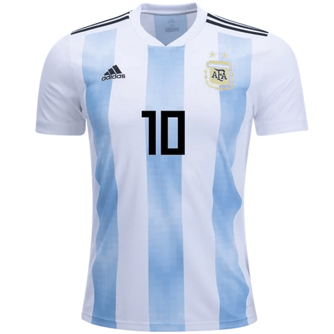 wholesale dealer 0a410 667a0 Argentina 2018 Home Jersey Messi #10