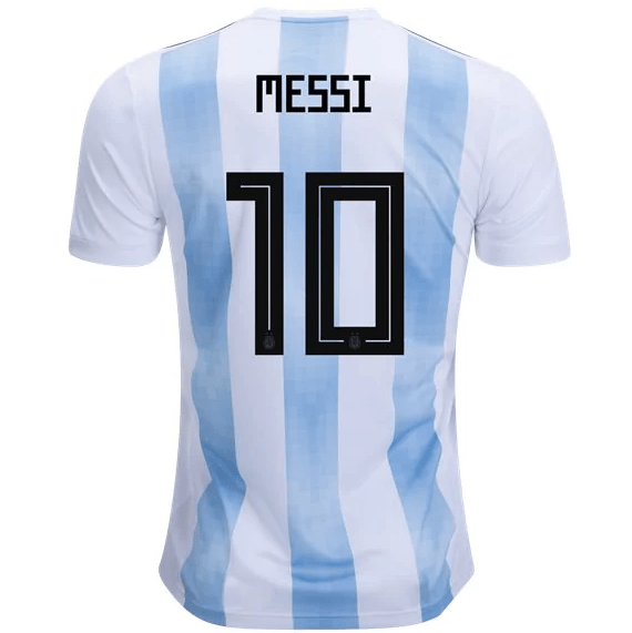7756ca929d2 Argentina 2018 Home Jersey Messi #10 - IN STOCK NOW - TNT Soccer Shop