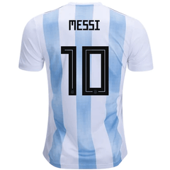 Argentina 2018 Home Jersey Messi #10
