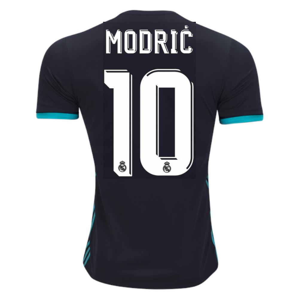 Real Madrid 17/18 Away Jersey Modrić #10 UCL PATCH- READY TO SHIP! Jersey TNT Soccer Shop