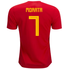 Spain 2018 Home Jersey Alvaro Morata #7 - IN STOCK NOW - TNT Soccer Shop