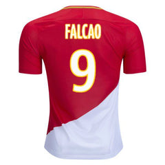 AS Monaco 17/18 Home Jersey Falcao #9 Jersey TNT Soccer Shop