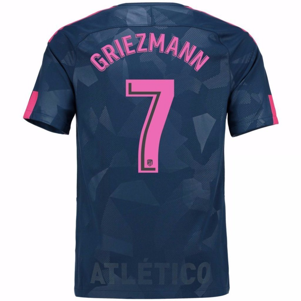 Atletico Madrid 17/18 Third Jersey Griezmann #7 Jersey TNT Soccer Shop
