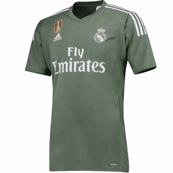 Real Madrid 17/18 Goalkeeper Jersey Jersey TNT Soccer Shop