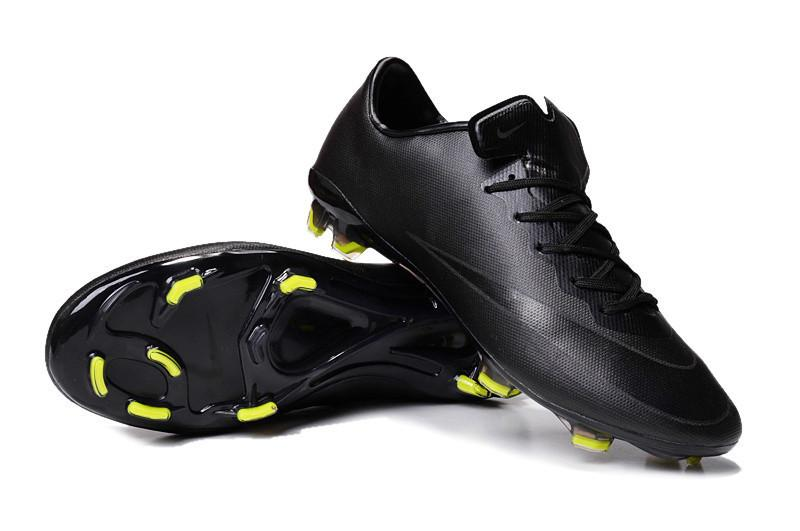 Mercurial Vapor X FG- Black Volt - IN STOCK NOW - TNT Soccer Shop