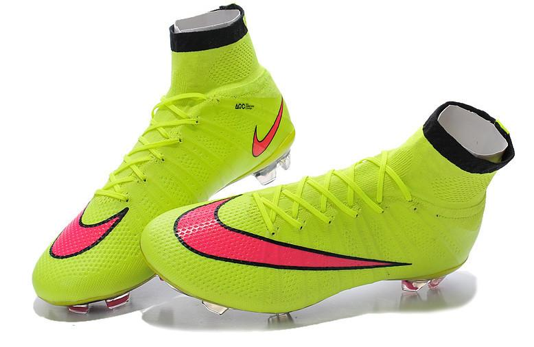 Mercurial Vapor X Superfly FG - Volt & Hyper Pink - IN STOCK NOW - TNT Soccer Shop