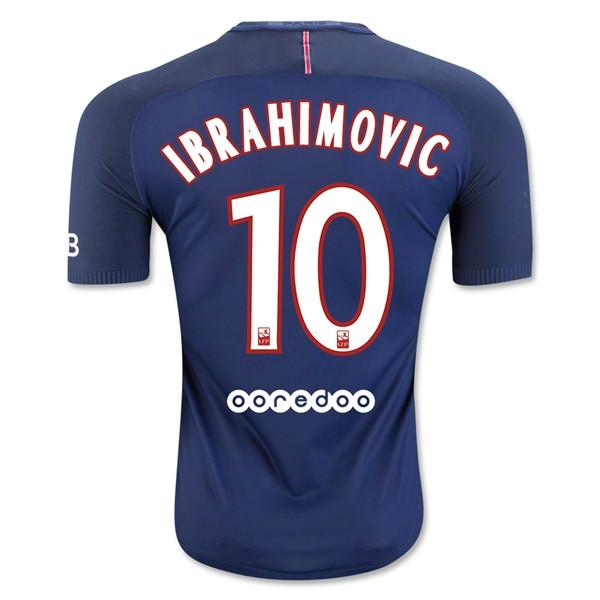 Paris Saint-Germain 16/17 Home Jersey Ibrahimović #10 - IN STOCK NOW - TNT Soccer Shop