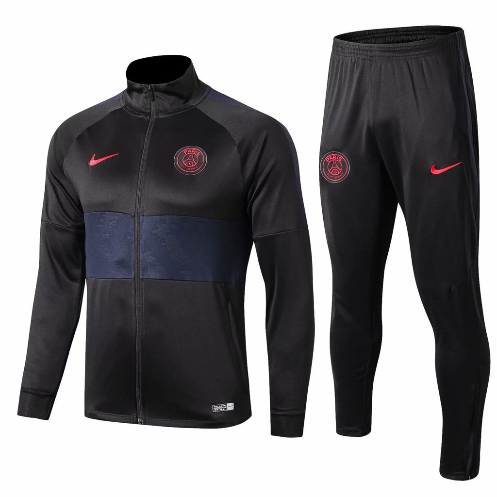 Paris Saint-Germain 19/20 Black Dry Strike Jacket Jacket TNT Soccer Shop S with Training Pants
