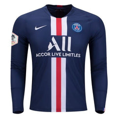Paris Saint-Germain 19/20 Home LS Jersey Personalized Long Sleeve Jersey TNT Soccer Shop S Ligue 1 No