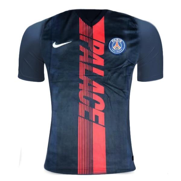 Paris Saint-Germain 19/20 Blue Strike Training Jersey Training Jerseys TNT Soccer Shop