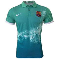 Barcelona 17/18 Teal Polo - IN STOCK NOW - TNT Soccer Shop