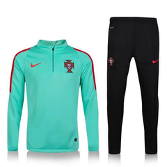 Portugal 2016 Green Glow Tracksuit Tracksuit TNT Soccer Shop
