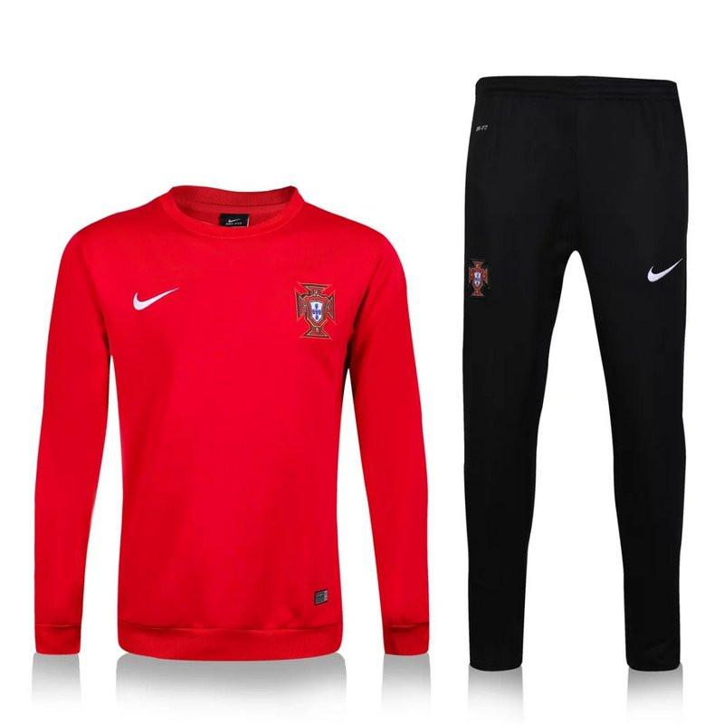 best website f79c1 d929d Portugal 2016 Red Tracksuit
