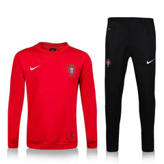 Portugal 2016 Red Tracksuit - IN STOCK NOW - TNT Soccer Shop