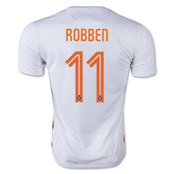 Netherlands 15-16 Away Jersey Robben #11 - IN STOCK NOW - TNT Soccer Shop