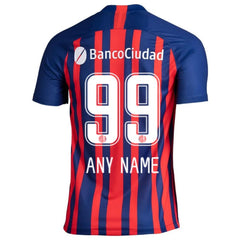 San Lorenzo 20/21 Home Jersey Personalized Jersey TNT Soccer Shop