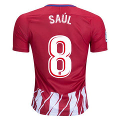 Atletico Madrid 17/18 Home Jersey Saúl #8 - IN STOCK NOW - TNT Soccer Shop