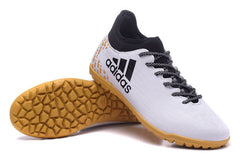 X 16.3 IC - White Gold Footwear TNT Soccer Shop