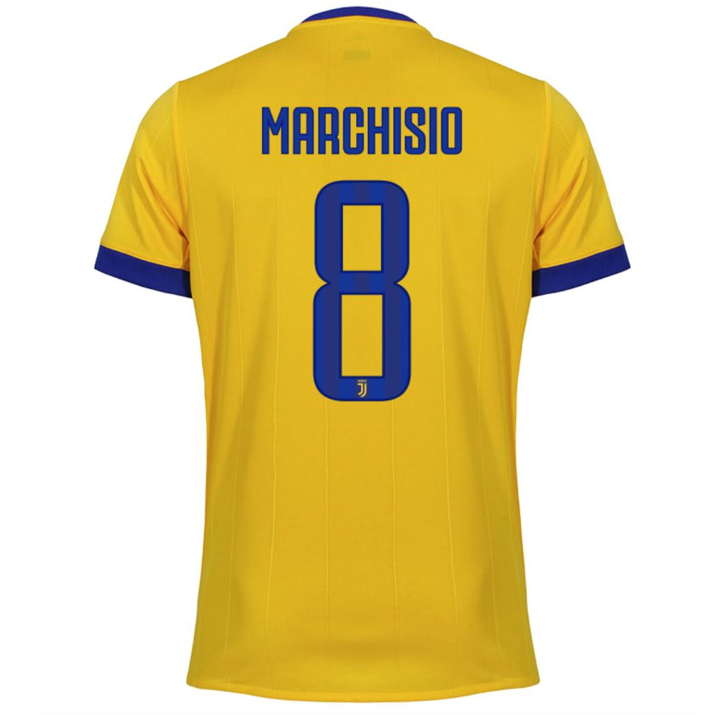 Juventus 17/18 Away Jersey Marchisio #8 Jersey TNT Soccer Shop