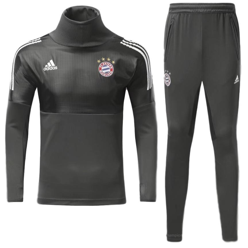 Bayern Munich 17/18 Black Tracksuit - IN STOCK NOW - TNT Soccer Shop