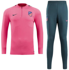 Atletico Madrid 17/18 Pink Tracksuit - IN STOCK NOW - TNT Soccer Shop