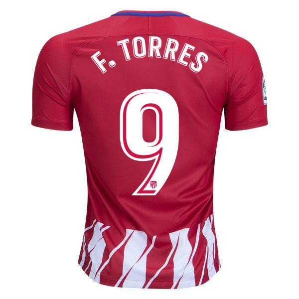 Atletico Madrid 17/18 Home Jersey Fernando Torres #9 - IN STOCK NOW - TNT Soccer Shop