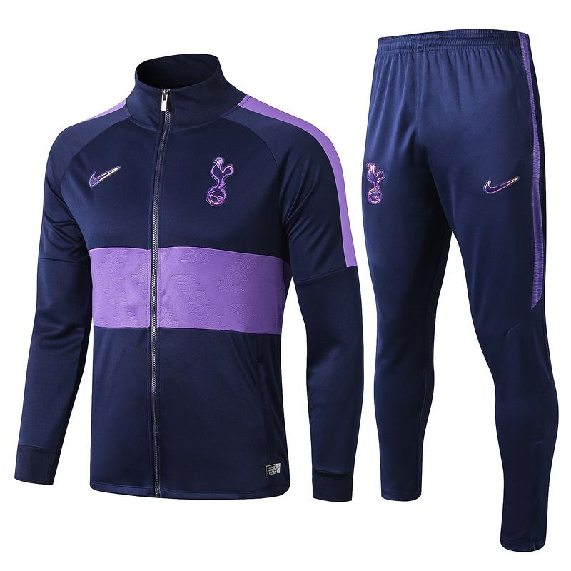 Tottenham 19/20 Navy Purple Strike Track Jacket Jacket TNT Soccer Shop S with Training Pants