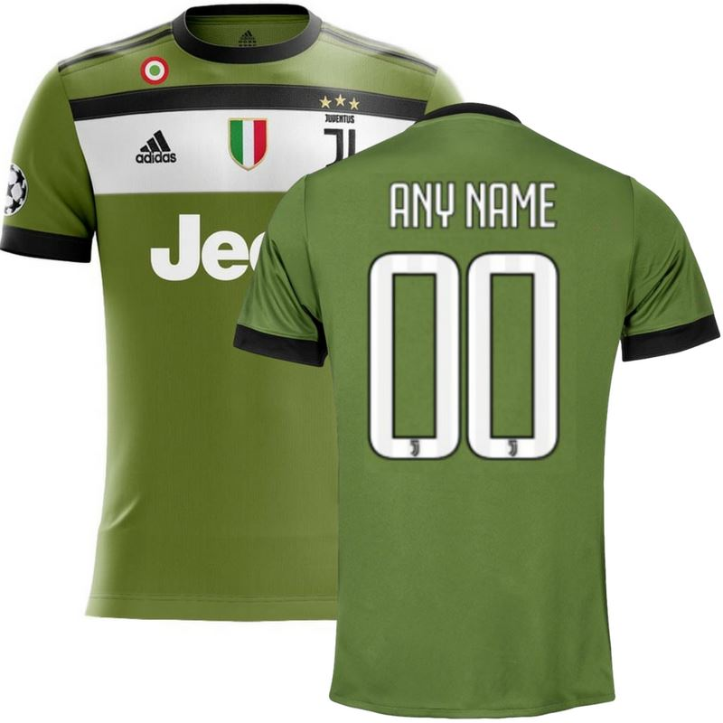 Juventus 17/18 Third Jersey Personalized Jersey TNT Soccer Shop