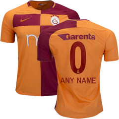 Galatasaray 17/18 Home Jersey Personalized Jersey TNT Soccer Shop