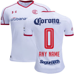 Toluca 17/18 Away Jersey Personalized Jersey TNT Soccer Shop