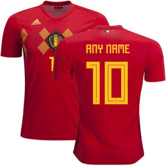 Belgium 2018 Home Jersey Personalized Jersey TNT Soccer Shop