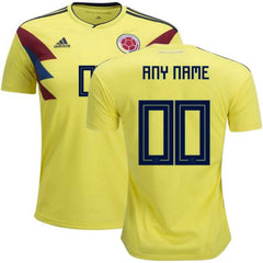 Colombia 2018 Home Jersey Personalized Jersey TNT Soccer Shop