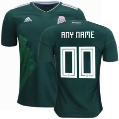 Mexico 2018 Home Jersey Personalized Jersey TNT Soccer Shop