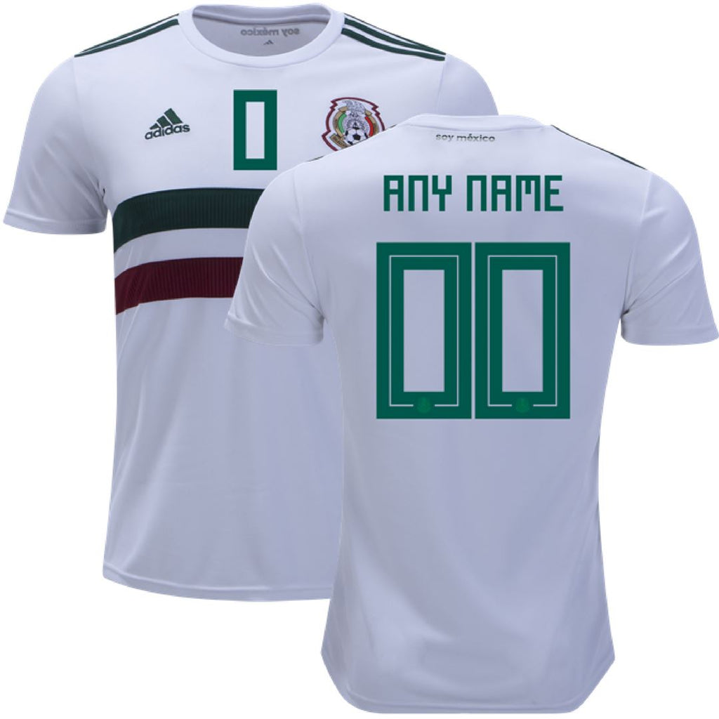 Mexico 2018 Away Jersey Personalized Jersey TNT Soccer Shop