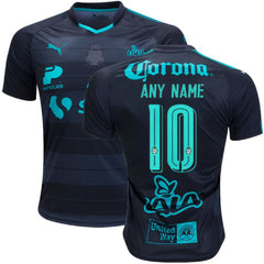 Santos Laguna 17/18 Away Jersey Personalized Jersey TNT Soccer Shop