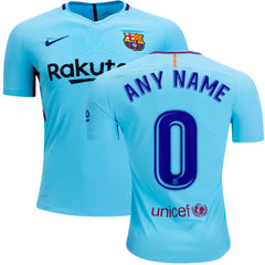 Barcelona 17/18 Away Jersey Personalized Jersey TNT Soccer Shop