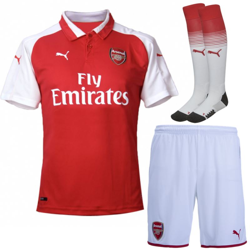 Arsenal 17/18 Home Full Kit Adult Kit TNT Soccer Shop