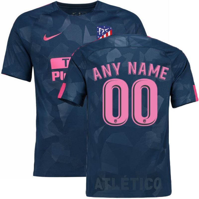 Atletico Madrid 17/18 Third Jersey Personalized Jersey TNT Soccer Shop