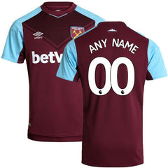 West Ham 17/18 Home Jersey Personalized Jersey TNT Soccer Shop