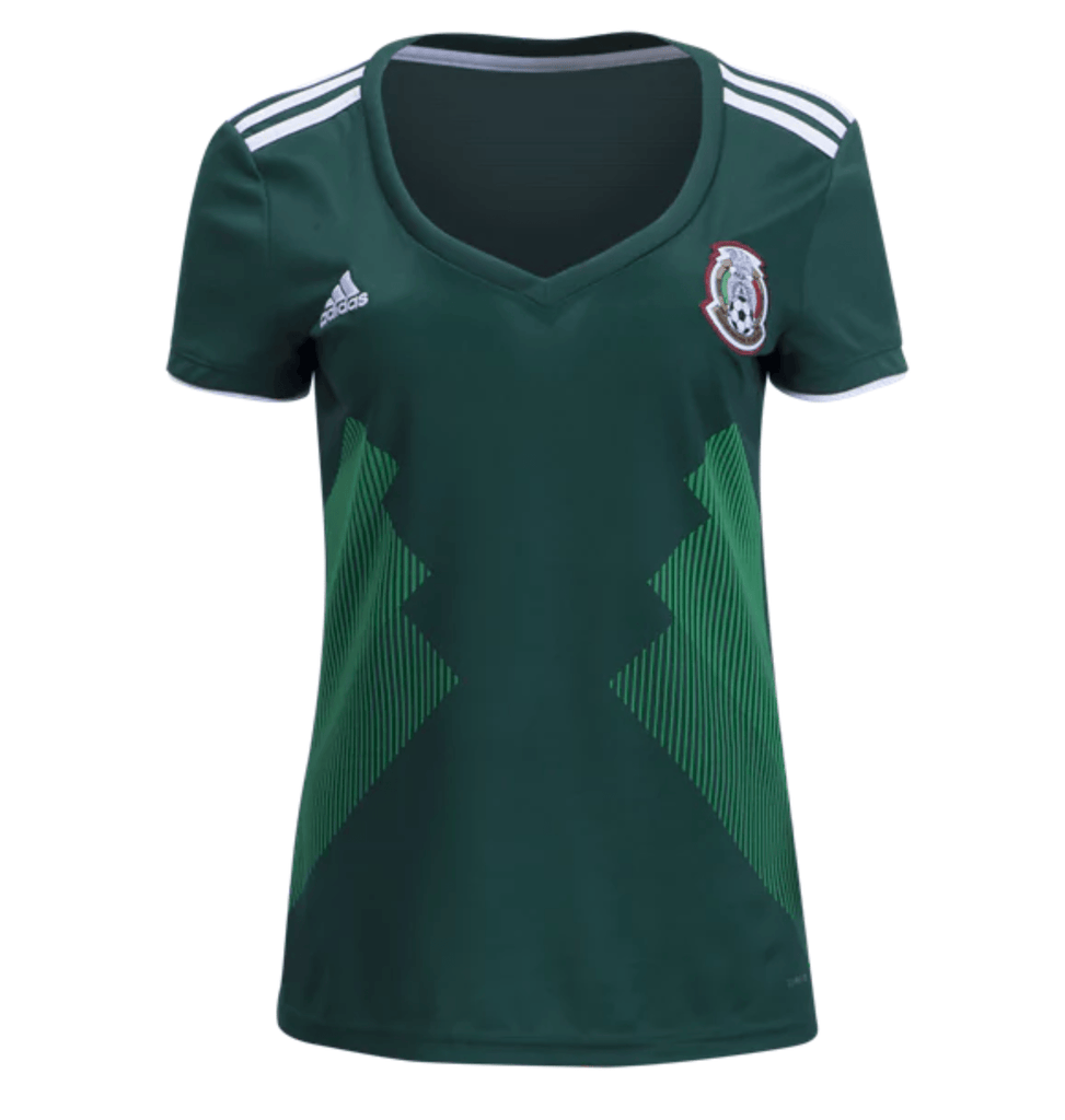 mexico 2018 home womens jersey