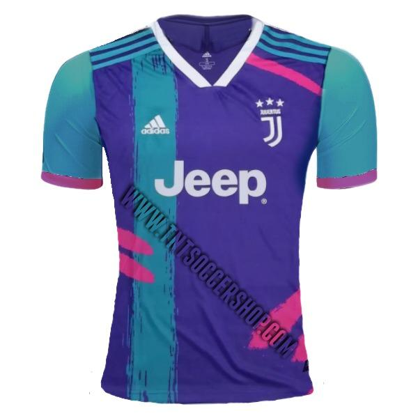 Juventus 19/20 Purple Pre-Match Training Jersey Training Jerseys TNT Soccer Shop