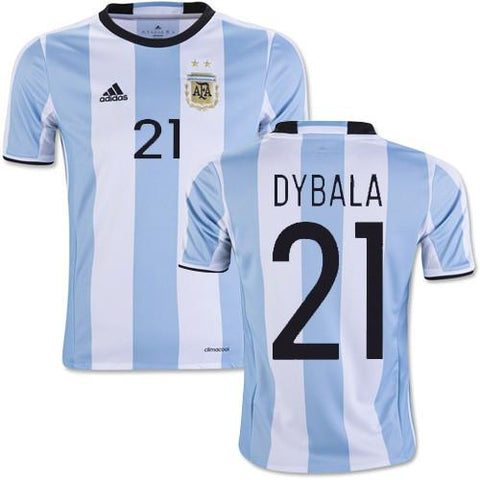 online store 76f12 c6b13 Argentina 2016 Home Jersey Dybala #21