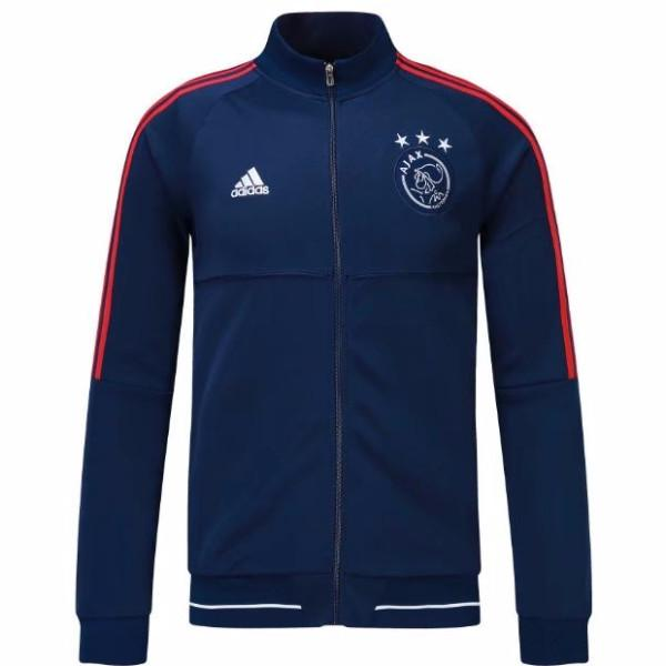 Ajax 17/18 Blue Jacket Jacket TNT Soccer Shop