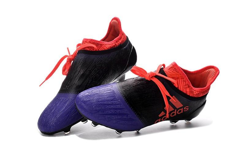 X 16+ PureChaos FG - Collegiate Purple Solar Black Footwear TNT Soccer Shop